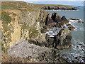 SM7424 : Coastal erosion by Carol Rose