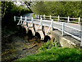 SU1937 : Idmiston - Bridge Over The River Bourne by Chris Talbot