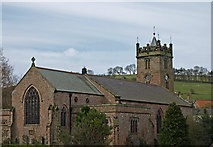 NT9928 : St. Mary's Church, Wooler by wfmillar