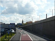 SJ9195 : Manchester Road North by Gerald England