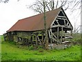 SO3461 : Barn at Stansbatch House by Philip Pankhurst