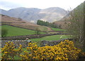 NY1808 : Mosedale from the packhorse bridge at Wasdale Head by Andrew Hill