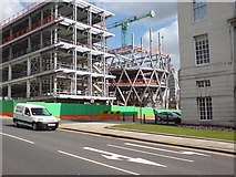 SE2934 : Building The Rosebowl, Leeds by Rich Tea