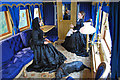 NO3695 : Ballater station - the interior of the Victorian railway saloon carriage by Nigel Corby