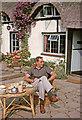 SP1452 : Tea Shop, Welford on Avon, Warwickshire taken 1964 by Gladys Matthews