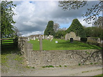 N9964 : Church and graveyard, Ballymagarvey, Co. Meath by Kieran Campbell