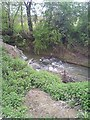 SP0238 : Water feature in the river by John Carver