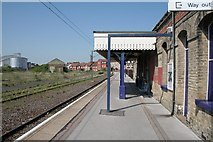 TM2532 : High Noon at Harwich Town Station. by roger geach