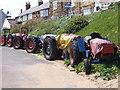 NZ6322 : Marske tractors by Stephen McCulloch