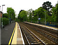 J4882 : Carnalea railway halt [2] by Rossographer