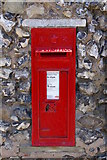 TQ5162 : Victorian postbox by Ian Capper