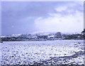 SX3374 : Winter snow at Bray Shop by Trevor Rickard