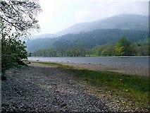 NN5810 : Narrows at the south of Loch Lubnaig by Gordon Brown