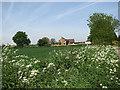 TG3825 : Hall Farm by Evelyn Simak