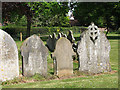 TG3826 : 19th century headstones by Evelyn Simak