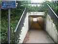 SZ1193 : Queen's Park: subway under Wessex Way by Chris Downer