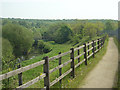 SK4290 : Rother Valley footpath by Alan Murray-Rust