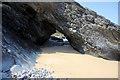 NR3998 : Natural arch, Kiloran Bay by Bob Jones