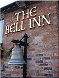SP1452 : The Bell Inn Pub Sign by Ian Paterson