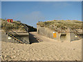 TG4128 : Ramp onto the beach by Evelyn Simak