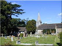 TQ1328 : St Nicholas' Church Itchingfield by Dave Hilliam