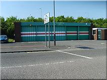 SO9596 : Bilston Ambulance Station by Gordon Griffiths