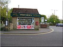SK2572 : Baslow - Sweet Shop and Car Park by Alan Heardman