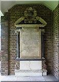 TQ3680 : Wall monument at Royal Foundation of St Katharine, Butchers Row, London E14 by John Salmon