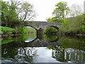 NN5617 : Strathyre bridge from the River Balvag by Gordon Brown