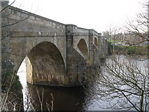 NY9170 : Chollerford Bridge (east side) by Mike Quinn