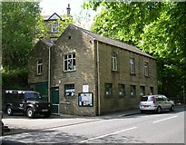 SE0125 : Mytholmroyd Library - Cragg Road by Betty Longbottom