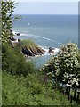 SX9150 : View of Pudcombe Cove by Derek Harper