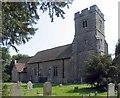 TR0245 : St Mary's Church, Kennington, Kent by John Salmon