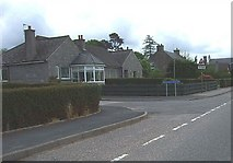 NJ6201 : Junction of Kerloch Crescent with A980 by Stanley Howe