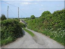 SH5968 : Cororion Bach cottage, Heol y Wern, Tregarth by Eric Jones