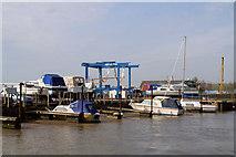TM4599 : Boat yard, St Olaves by Pierre Terre