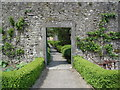 M9380 : Door into the fruit garden at Strokestown Park by Kay Atherton