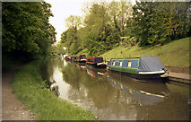 SU1561 : Kennet and Avon Canal, Pewsey by Dr Neil Clifton