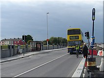 O0726 : Temporary Bus Halt, Cookstown Road by Ian Paterson
