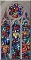 TM1579 : St Andrew's Church, Scole, Norfolk - East window by John Salmon