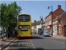 TF4066 : Bus Service at Spilsby by Dave Hitchborne