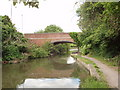 TQ0880 : Grand Union Canal bridge 198 - Dawley Road by David Hawgood
