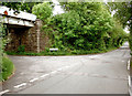 SS8383 : Road junction on the edge of Kenfig Hill by eswales