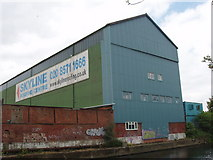 TQ1579 : Roofing supplies warehouse by David Hawgood