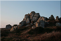 SV8707 : Carn on Castella Down by David Lally