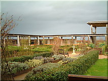 SK1814 : The Cloisters Area, National Memorial Arboretum by Chris' Buet