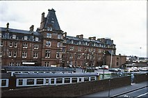 NS3421 : Ayr station 1983 by Peter Whatley