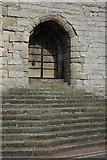 SH4762 : Doorway to Caernarfon Castle by Philip Halling