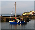 J5082 : A yacht in the 'Long Hole', Bangor by Rossographer