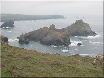 SW6813 : Asparagus Island & Gull Rock by Rod Allday